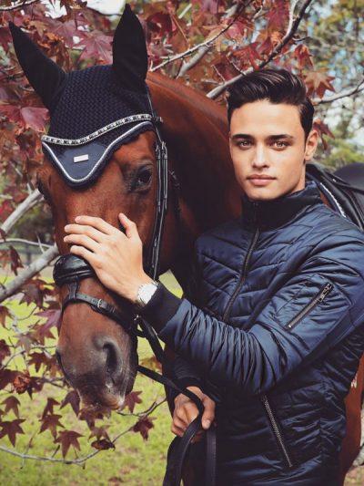 Equestrian Stockholm men's bomber jacket